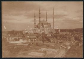 cca 1890-1900 Törökország, Ahmed szultán mecsetje Konstantinápolyban, 8x11 cm / Constantinople, mosque