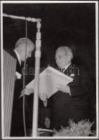 1955 Kármán Tódor kitüntetése a zürichi egyetemen