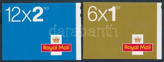 2006 II. Erzsébet királynő 2 bélyegfüzet MH 0-293 + 0-294 (Mi 2438-2439)