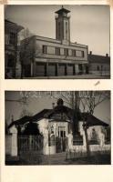 Novi Vrbas, Vatrogasni dom / fire station, sanatorium, photo '1941 Újverbász visszatért', 1941 Újverbász, Verbász, Hetzel szanatórium, Tűzoltóság / '1941 Újverbász visszatért'