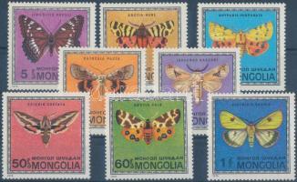 1974 Pillangók sor Mi 824-831