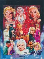 1995 Marilyn Monroe kisív Mi 2603-2611 + 2 blokk Mi 250-251
