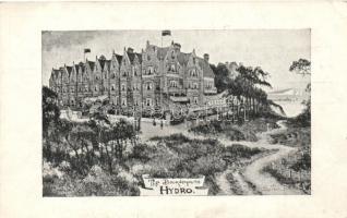 Bournemouth, Hydro, advertisement on the back side (EK)