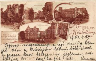 1899 Heidelberg, litho (cut)