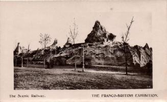 London, The Franco-British exhibition, The Scenic railway