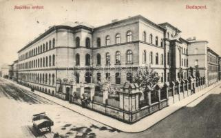 Budapest IX. Ranolder Intézet (ázott / wet damage)