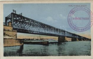 Riga, Eiserne Brücke / iron bridge