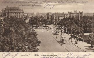 Riga, Alexander boulevard
