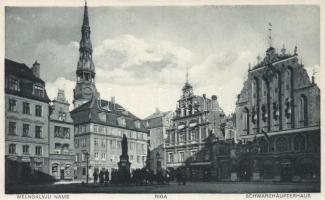 Riga, Melngalvju Nams / Schwarzhäupterhaus