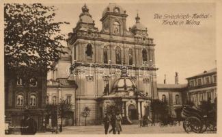 Vilnius, Wilna; Griechisch-Kathol. Kirche / Greek Catholic church