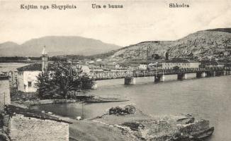 Shkodër, Shkodra; bridge