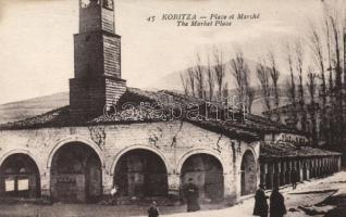 Korce, Koritzia; Market place