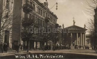 Vilnius, Wilna; Mickiewicz street, photo