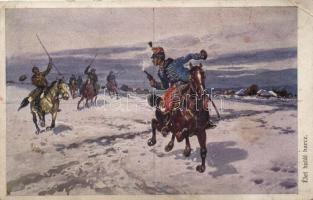 Battle, Hungarian hussar, WWI, I. világháborús csata, magyar huszár