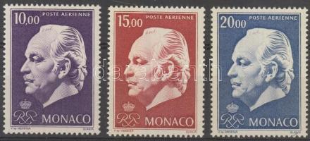 1974 III. Rainier herceg sor Mi 1160-1162