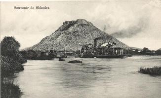 Shkodër, Shkodra; ferry boat