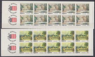 1992 Monacói tájak bélyegfüzetek MH 7-8 (Mi 2082-2083)