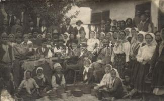 1916 Krivelj, cheese manufacture, group photo