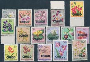 1960 Virágok sor Mi 13-28 (10c-esek nélkül)