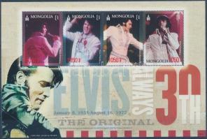 2007 30 éve hunyt el Elvis Presley kisív Mi 3629-3632