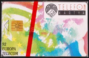 1992 Europa Telecom bontatlan telefonkártya 10000 pld.