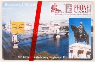 1994 Budapest bontatlan telefonkártya. Csak 4000 db!