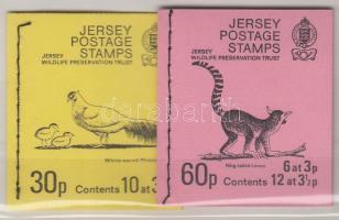 1972-1974 2 db bélyegfüzet Mi MH 0-11 + 0-12