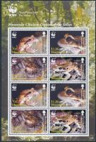 2006 WWF: Békák kisív Mi 1335-1338