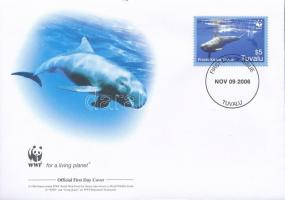 2006 WWF: Törpe kardszárnyú delfinek sor 4 db FDC-n Mi 1307-1310