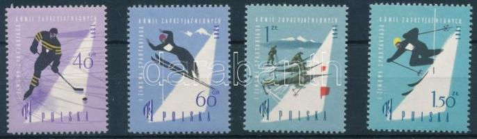 1961 Sport sor Mi 1221-1224