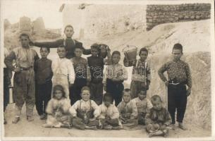 Macedonian children, photo