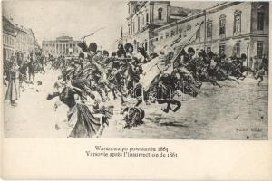 1863 Warsaw, Warszawa; po powstaniu / after the uprising s: W. Kossak
