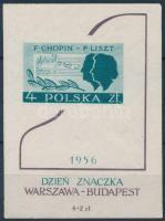 1956 Bélyegnap blokk Mi 19