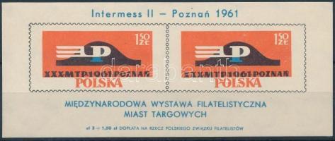 1961 Nemzetközi Bélyegkiállítás blokk Mi 25