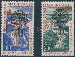 1962 Küzdelem a malária ellen sor Mi VII-VIII I