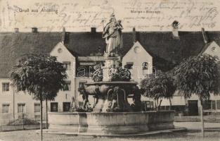 Altötting, Marien Brunnen / fountain