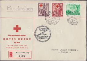 Ajánlott alkalmi légi levél Registered airmail letter
