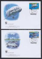 2009 WWF: Delfinek sor 4 db FDC-n Mi 4768-4771