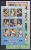 1991 Erzsébet anyakirálynő 90. születésnapja kisív sor Mi 742-768 MINTA