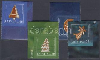 2006 Karácsony ívsarki öntapadós sor Mi 687-690