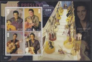 2007 Elvis Presley kisív Mi 1086-1089