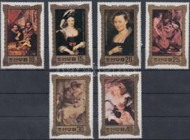 Rubens paintings set, Rubens festmények sor
