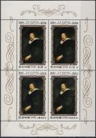 Rubens mini sheet, Rubens kisív