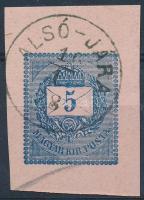ALSÓ-JÁRA (díjjegyes kivágás)