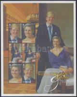 2007 A holland hercegi pár látogatása kisív Mi 3622-3624