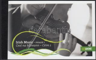 Irish music stamp-booklet, Ír zene bélyegfüzet