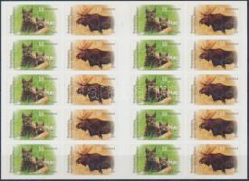 2012 Állatok fólia blokk Mi 2921-2922