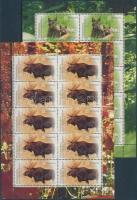 2012 Visszatelepített őshonos állatok kisív sor Mi 2913-2914