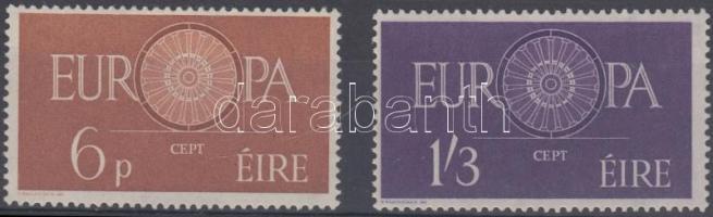 1960 Europa CEPT sor Mi 146-147