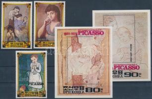 Picasso set without closing value + blockset, Picasso sor záróérték nélkül + blokksor